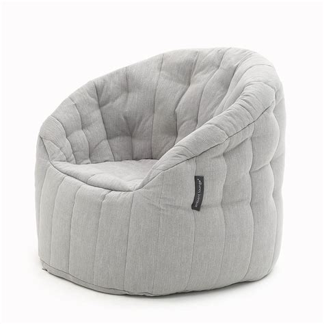 bean bag settee interior designer bean bags chair with structure