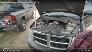 2007 Dodge Durango 4 7l Vacuum Leak Fast Idle Fix