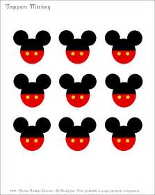 Mickey Mouse Template Printable Free