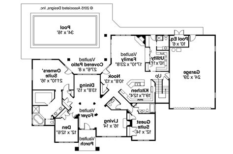 Tuscan House Plans  Meridian 30312  Associated Designs