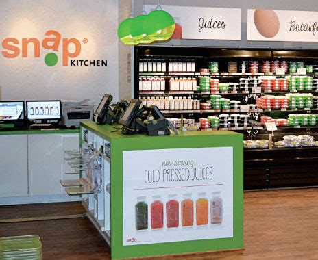 snap kitchen franchise fast food packaged goods feed customers hungry in transit