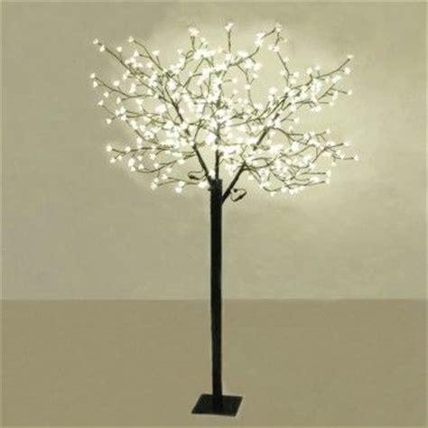 large decorative warm white blossom bonsai style led tree