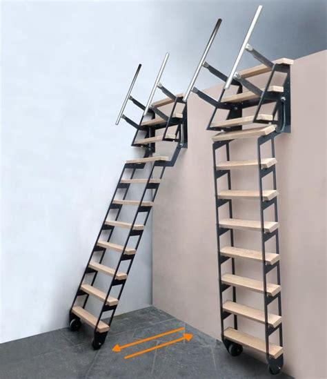 les 25 meilleures id 233 es concernant escalier escamotable