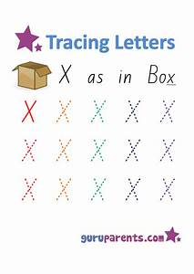 Letter X Worksheets Guruparents