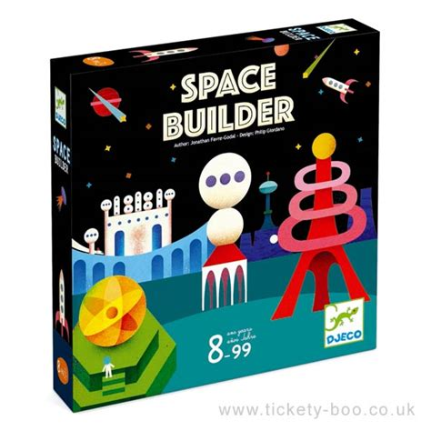 Space Builder Game by Djeco