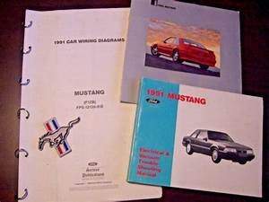 1991 Ford Mustang Electrical Vacuum Troubleshooting Manual