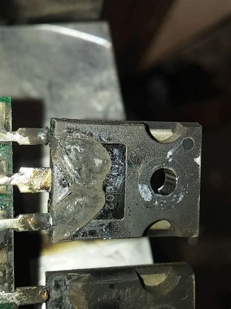 solucionado componentes derretidos en soldadora inverter electr 243 nica industrial yoreparo