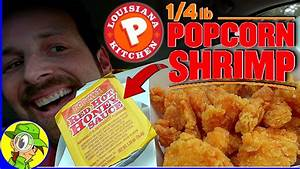 Popeyes®   1/4 lb Popcorn Shrimp Review 🍿🍤   Peep THIS Out ...