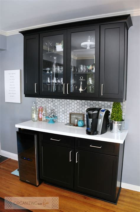 Best kitchen coffee bar ideas & decor tips to get inspired (with examples). The Kitchen is Done - the BIG Reveal!!!! | Organizing Made Fun: The Kitchen is Done - the BIG ...