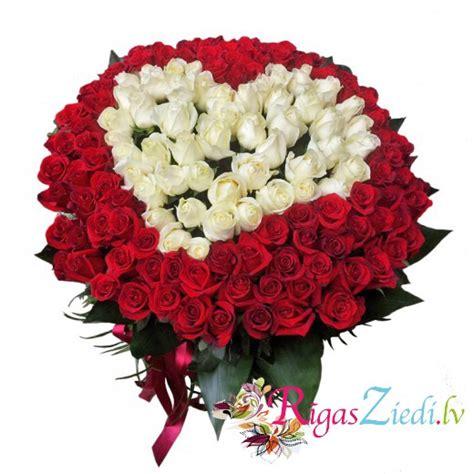 Rožu sirds 151 roze | Rīgas Ziedi