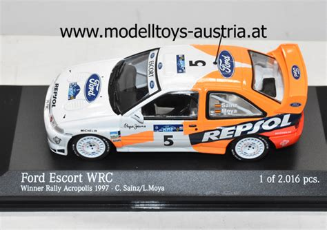 Erector sets, meccano sets and other construction toys for sale. FORD ESCORT WRC RALLYE ACROPOLE 1997 SAINZ ALTAYA 1:43