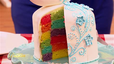 das grosse backen regenbogen torte sat
