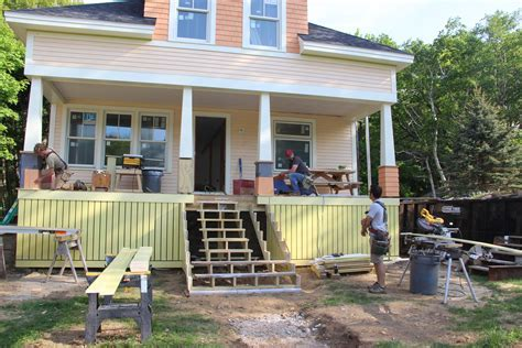 Craftsman Porch Columns for an Island Home   JLC Online