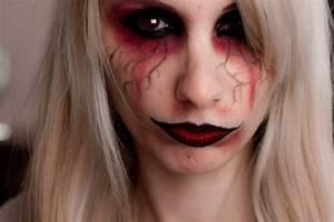 Maquillage D Halloween Pour Fille : maquillage vampire fille maquillage halloween enfant id es pour vos petits monstres maquillage ~ Melissatoandfro.com Idées de Décoration