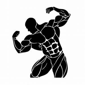 Bodybuilding Powerlifting Vector | fitness | Pinterest ...