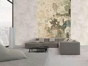 Peinture Sur Papier Peint Existant : papiers peints effet mati re on adore elle d coration ~ Premium-room.com Idées de Décoration