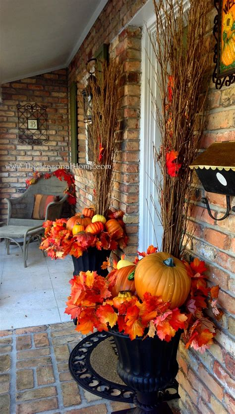 Decorating The Front Door For Fall (using Planters) « The