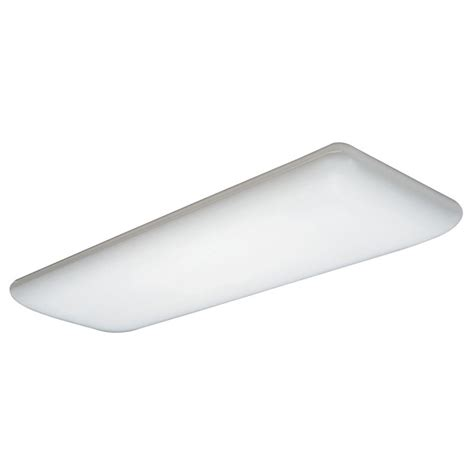 lithonia lighting 4 foot white fluorescent ceiling light