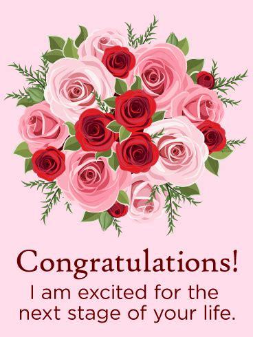 rose congratulations card birthday greeting cards  davia