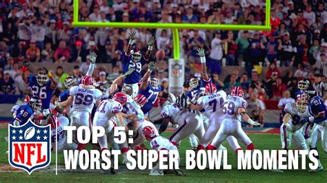 Top 5 Worst Super Bowl Moments Of All Time Nfl Now Youtube