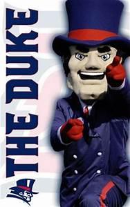Duquesne Dukes mascot, Duke. | College Mascots: Atlantic ...