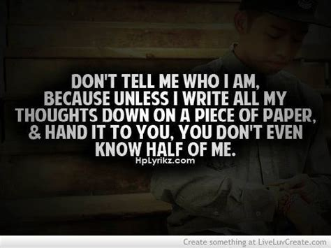 Nobody Knows Me Better Than Myself Quotes