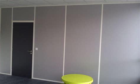 cloison modulaire bureau cloison amovible avec porte reims design