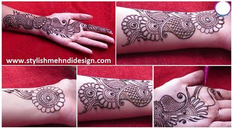 home design for beginners easy simple arabic henna gol tikki easy designs for