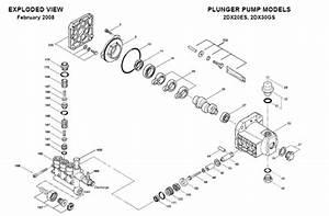 Cat Pump 2dx20es