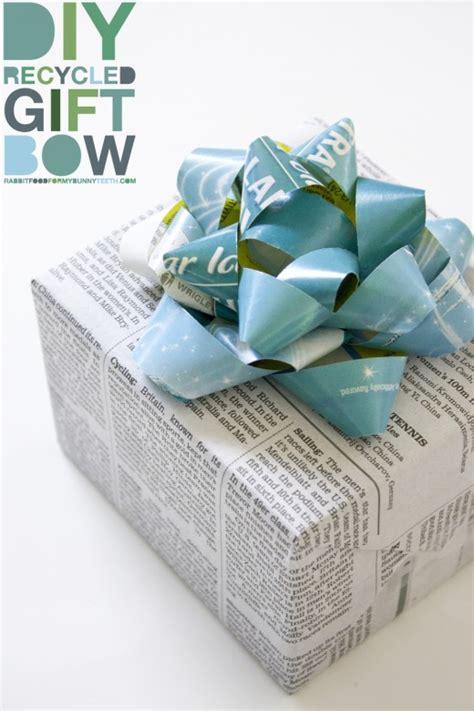 diy recycled gift bow rabbit food   bunny teeth