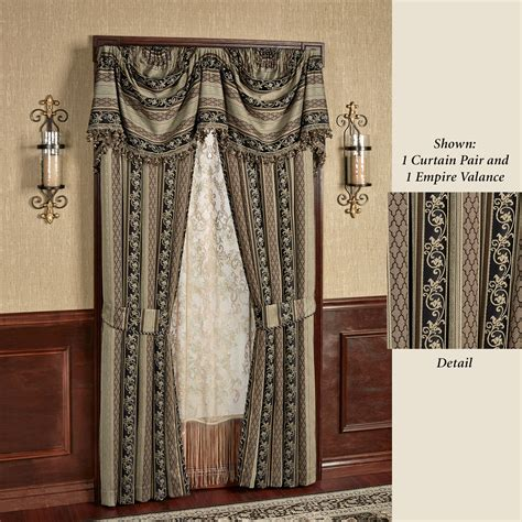 Empire Valance by Fontainebleau Empire Valance Window Treatment