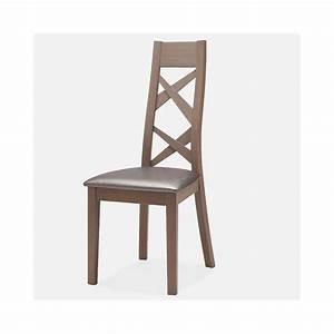 Chaise Chene Massif : chaise contemporaine ch ne massif ~ Teatrodelosmanantiales.com Idées de Décoration