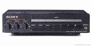 Sony Sb-900 - Manual - Audio System Selector