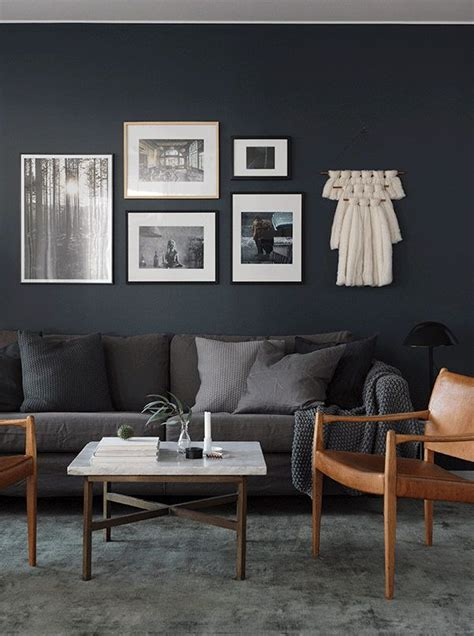 Black And Gray Living Room Carpet by To The Side In A Swedish Space My Scandinavian