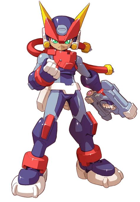 Grey Biometal Model A Characters And Art Mega Man Zx