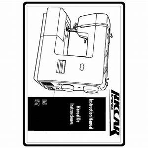Instruction Manual  Riccar R552   Sewing Parts Online
