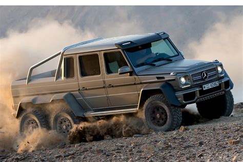 The two firms have succeeded in stretching the vehicle, adding two extra wheels and an extra axle. Power Wheels: 10 Best 6x6 Trucks For Adventure   HiConsumption