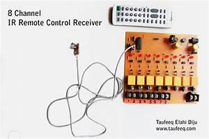 Taufeeq Elahi Diju - 8 Channel Ir Remote