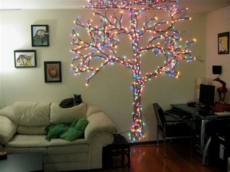 how many lights on christmas tree best 25 wall tree ideas on