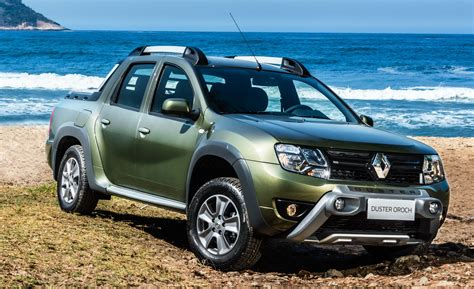renault alaskan 2017 renault duster oroch pick up truck launched in brazil