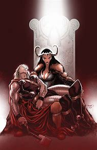 Lady Loki and Thor