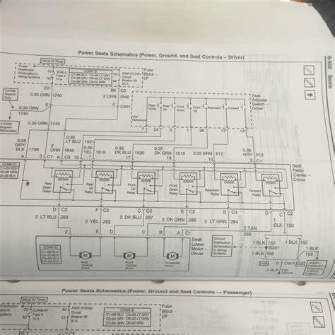 C5 Corvette Power Seat Wiring Diagram by Power Seat Wiring Diagram Corvetteforum Chevrolet