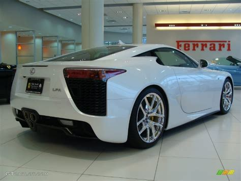 lexus coupe white 2012 pearl white lexus lfa coupe 60696137 photo 7