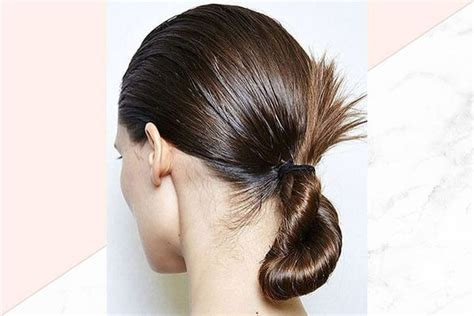 vely low bun hairstyles low bun hairstyle to try now bebeautiful 20 l