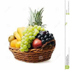 Panier A Fruit : panier de fruit image stock image du isolement fruits 6262673 ~ Teatrodelosmanantiales.com Idées de Décoration