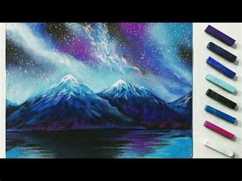 draw galaxy  soft pastels soft pastel drawing