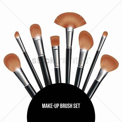 Vector Brush Makeup Graphic Vectors Stockunlimited Illustration