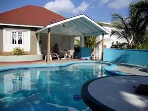 Rose, Garden, Pool, House, Long, Bay, Jamaica, Has, Mountain