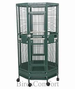 AE Medium Octagon Bird Cage 36x36 - by BirdsComfort.com