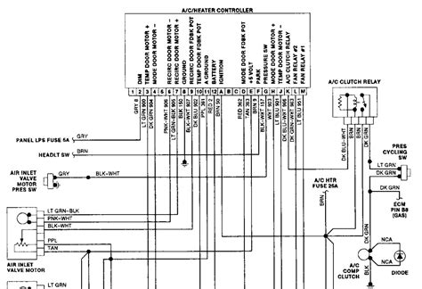 1992 Corvette Wiring Diagram Electronic Ac Module by 1990 Chevrolet Silverado Digital Climate Panel